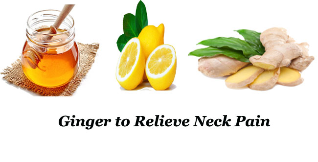 Ginger to Relieve Neck Pain