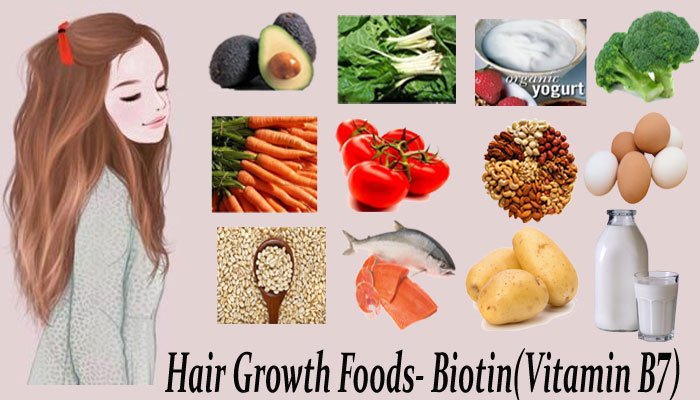 Hair Growth Foods-Biotin