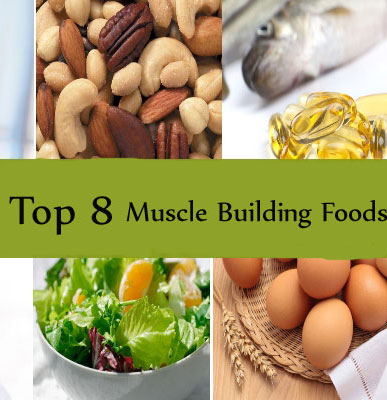 8 Muscle Gaining Foods