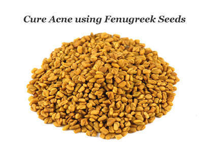 Fenugreek Remedy for Acne