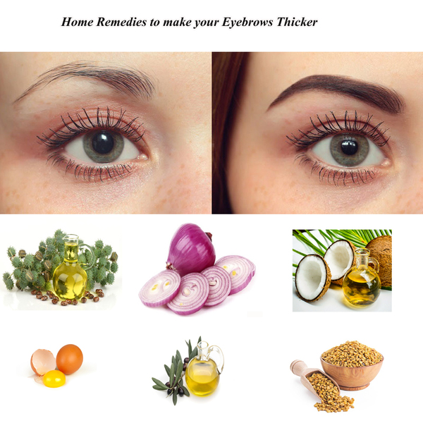 How To Grow Thick Eyebrows Get Thicker Eyebrows Naturally