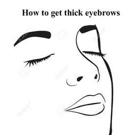 eyebrow thickener