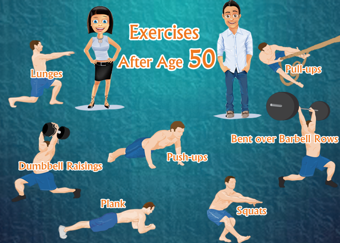 Exercise for 50 years old female