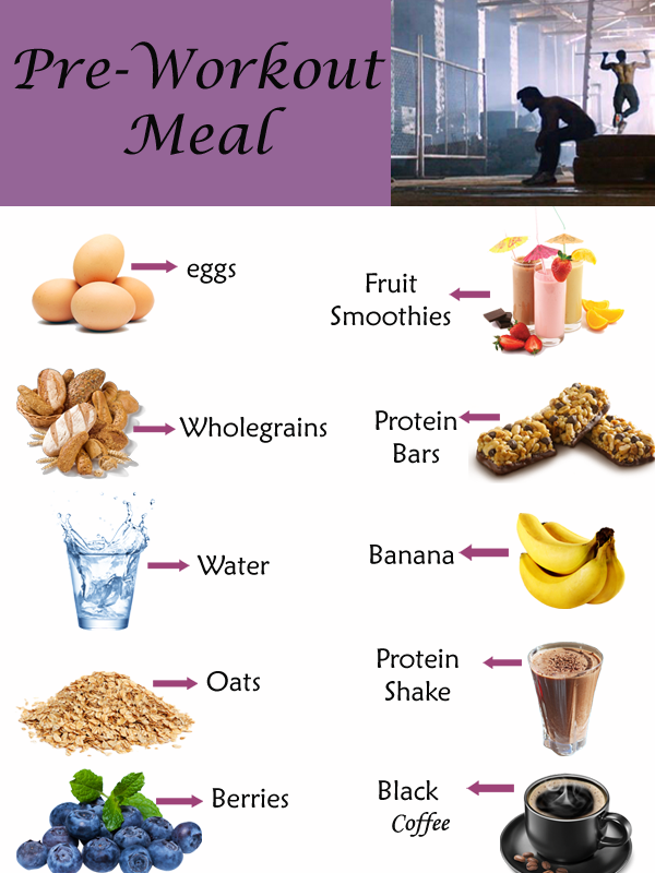 Pre Workout Meal For Weight Loss Top 10 Foods To Eat Before Exercise