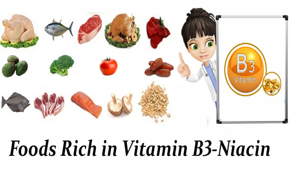 Foods Rich in Vitamin B3