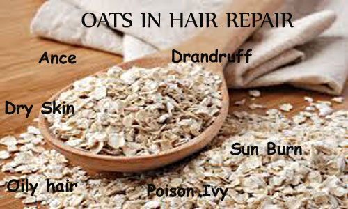 Oats for Hair