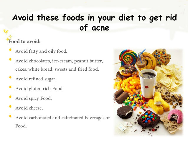 Foods That Help Get Rid Of Acne