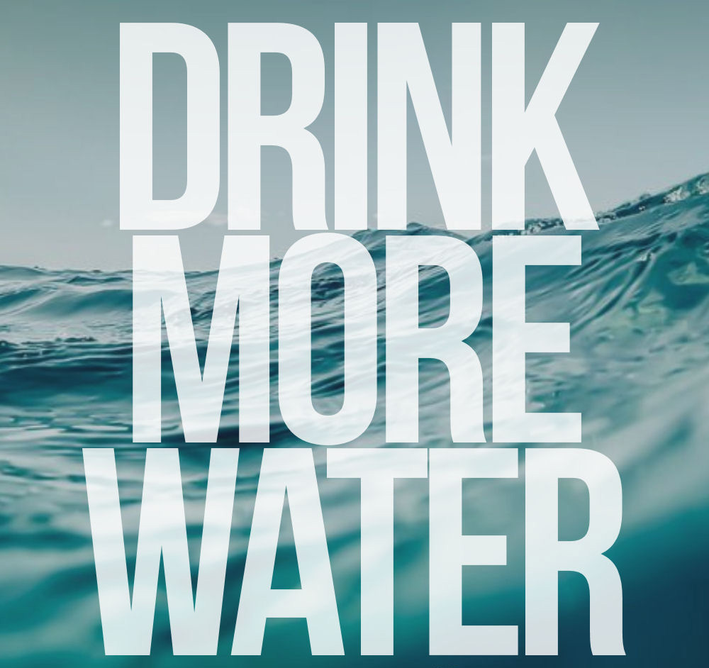 drink more water images