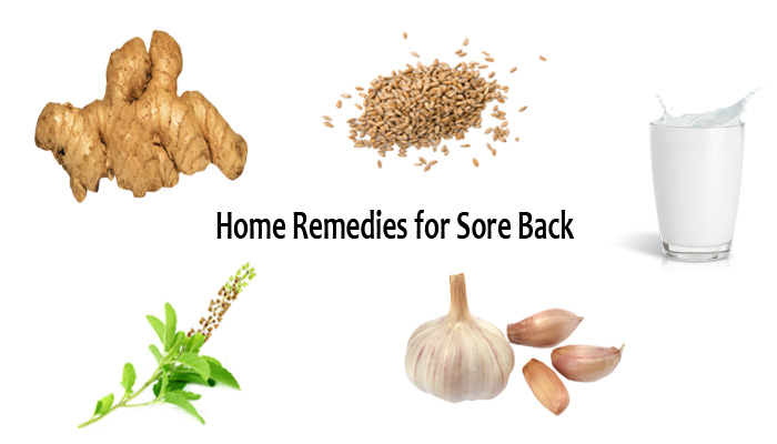 Home Remedies for Sore Back