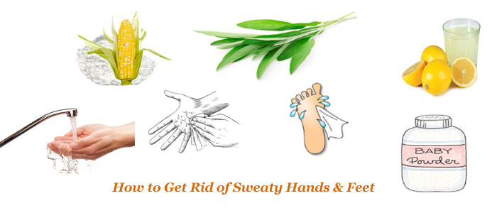 How to get rid of Sweaty Palms