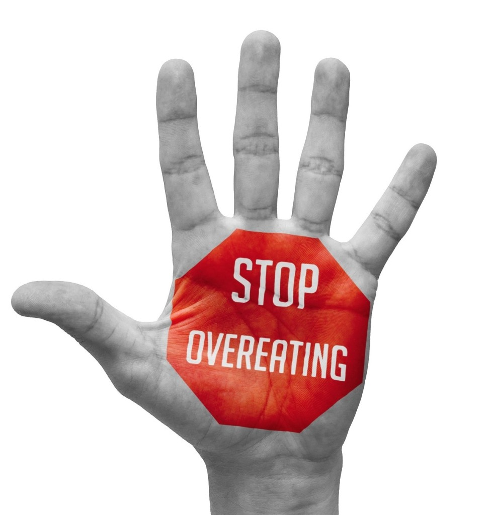 stop overeating image