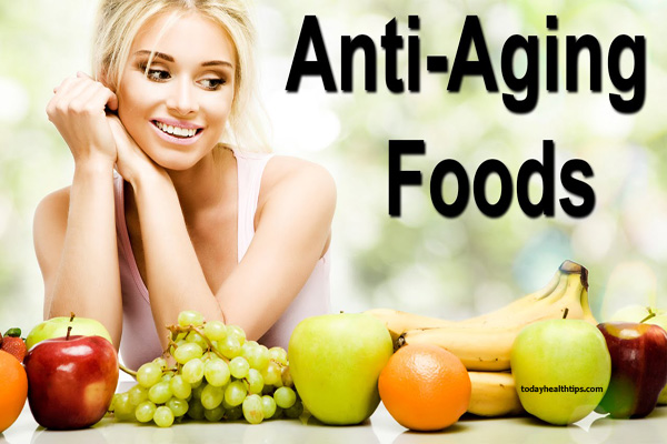 Healthy Anti-aging foods for your skin
