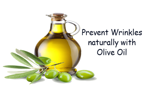 Cure Wrinkles with Olive Oil