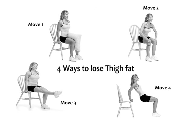 exercise to lose thigh fat