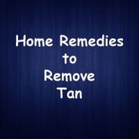 Home Remedies to remove tan | Remove Tan lines forever