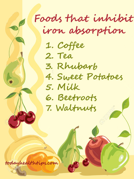 foods rich in iron content