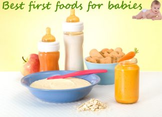 Best first foods for babies