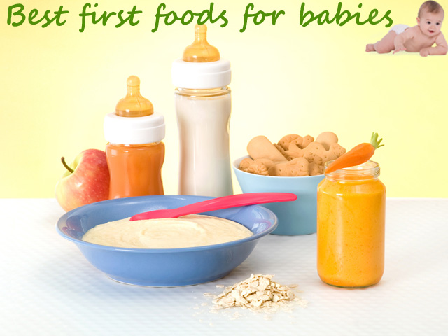 Best first foods for babies upto one year | Healthy foods for Infants