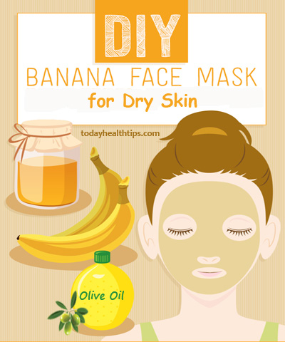 Banana Face Pack for dry skin