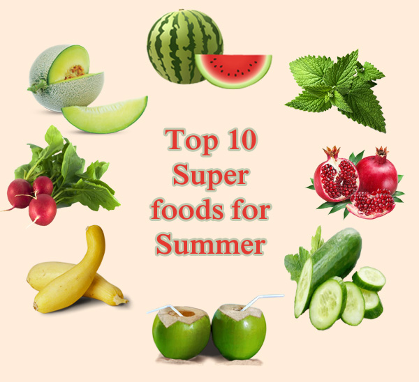 healthy superfoods for summer