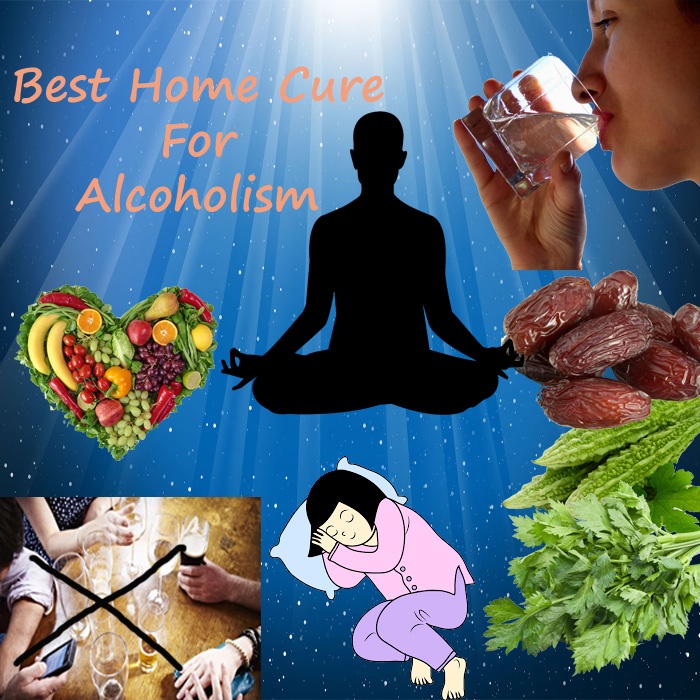 Home cure for alcoholism