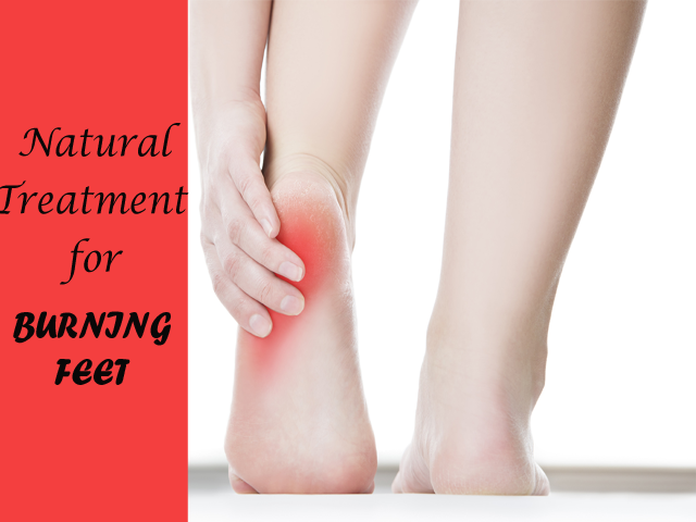The Best Home Treatment For Burning Feet