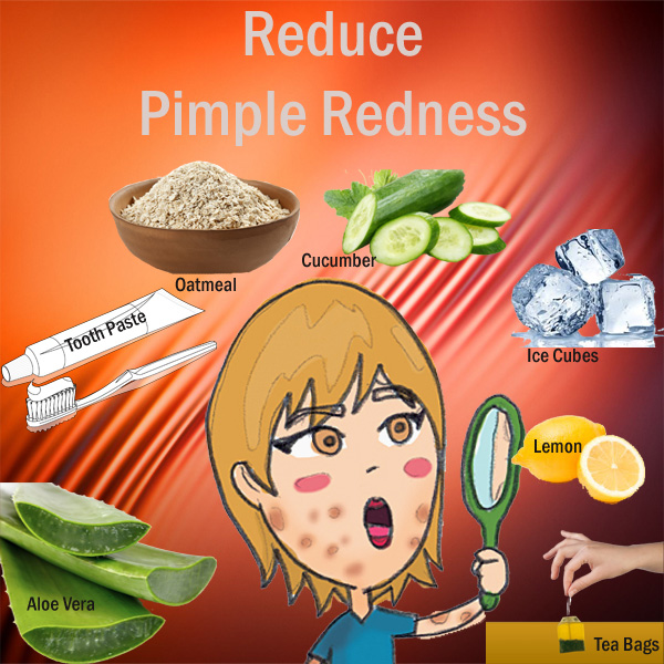 Reduce Pimple Redness