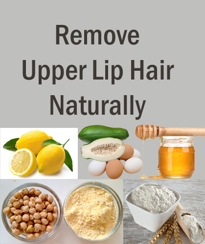 Remove Upper Lip hair