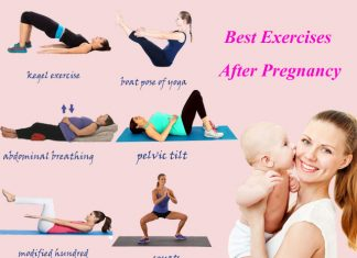 best postnatal exercises for new mothers
