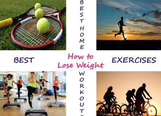 Weight loss exercises