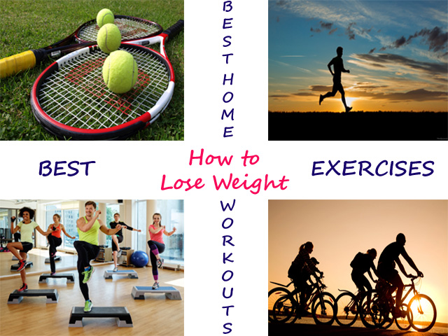How to lose weight with Exercise – Weight Loss Exercises at Home