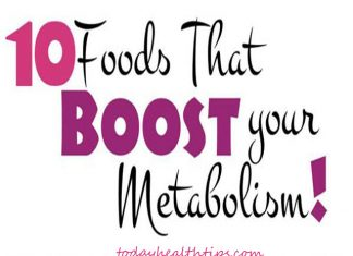 Foods that increase metabolism