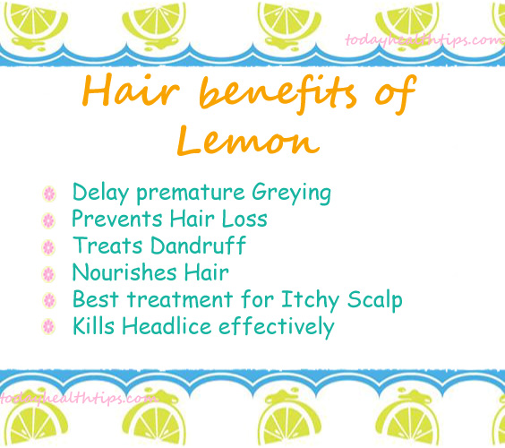 Uses of Lemon for Skin and Hair