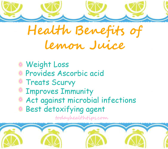 Health benefits of honey and lemon water