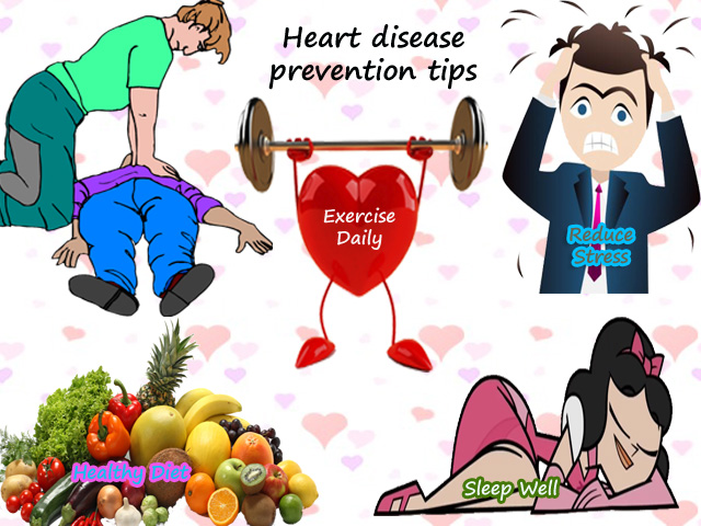 Tips to Prevent Heart Attack Symptoms – Natural ways for Heart Disease Prevention