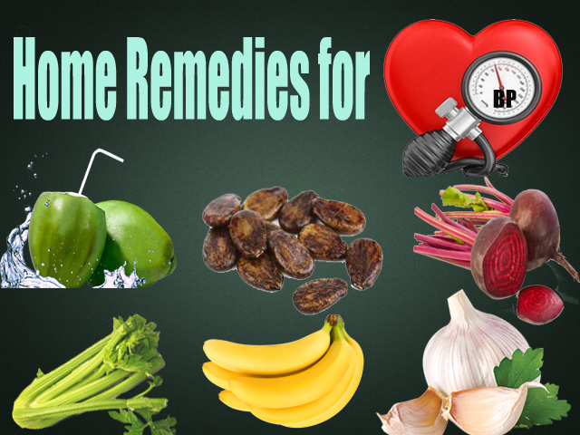 Hypertension Home Remedies – High Blood Pressure Natural Remedies