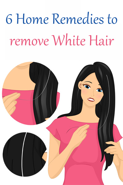 how to stop white hair growth