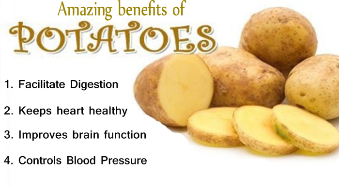 is potato good for health