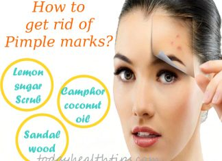 Get rid of pimple marks