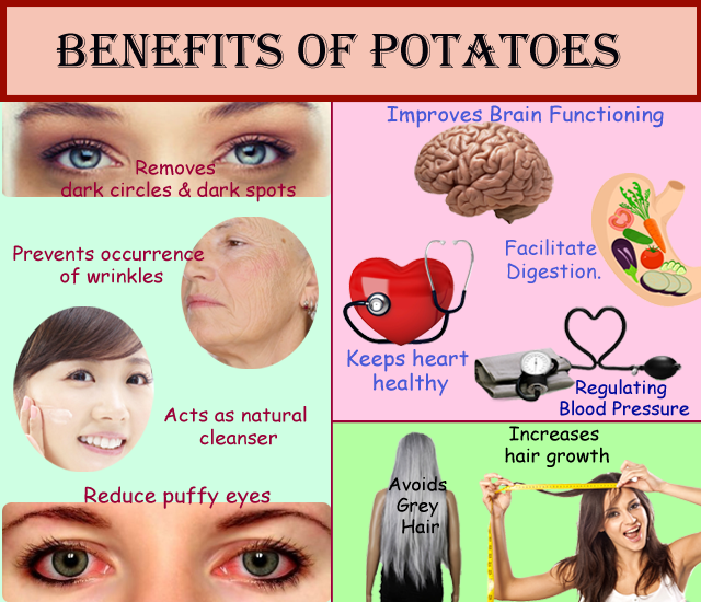 nutrients in potatoes