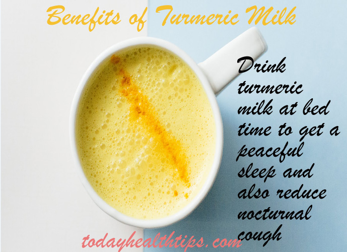 benefits of turmeric with milk