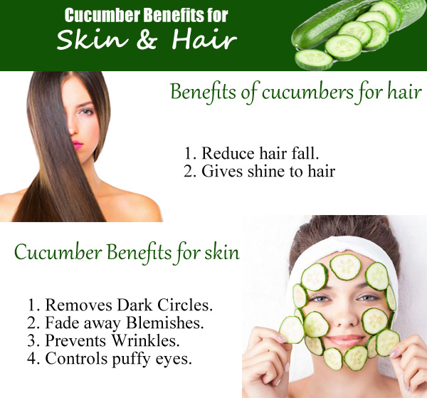 health benefits of cucumber water