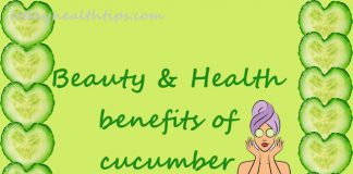 cucumber benefits