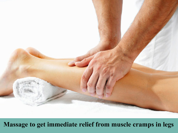 how to get rid of a leg muscle cramp