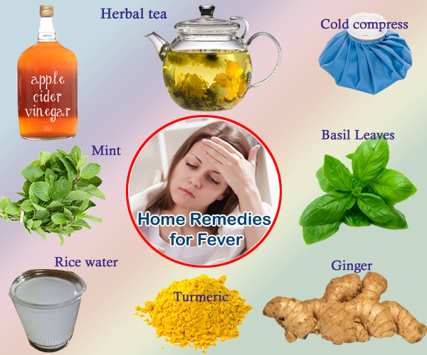 home remedies for baby fever