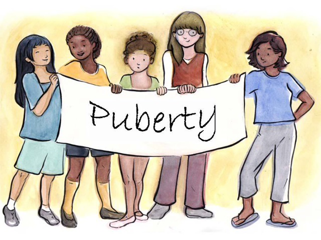 What Happens During Puberty in a girl? First Signs of Puberty